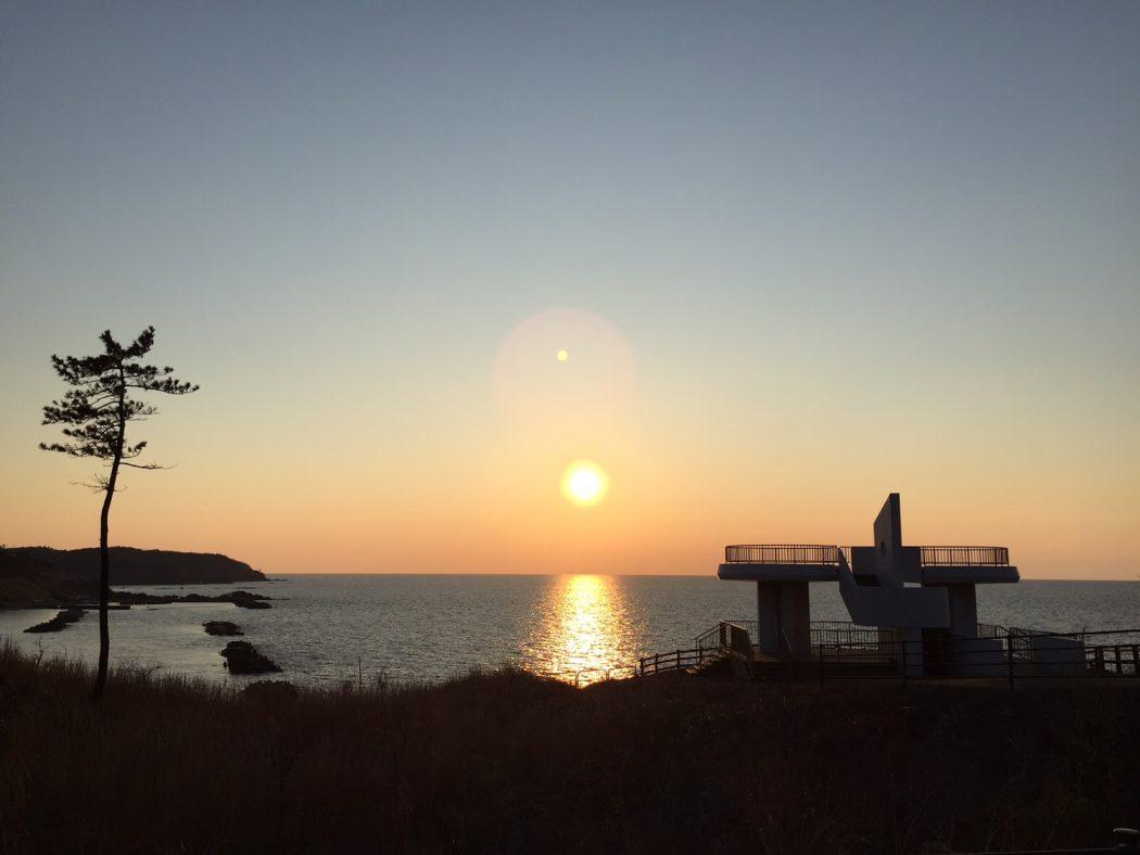 いなか日記。03『大好きな夕日。』
