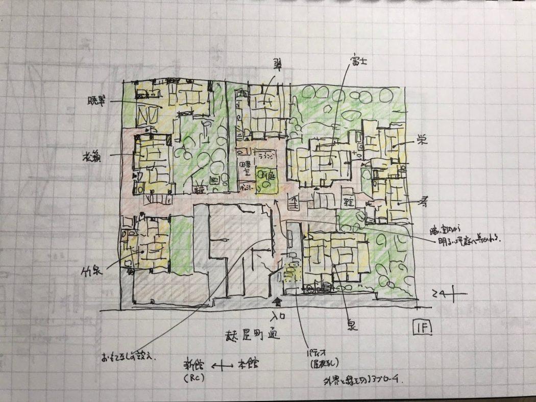ケンチク探訪♪ 03『京都「俵屋旅館」。』
