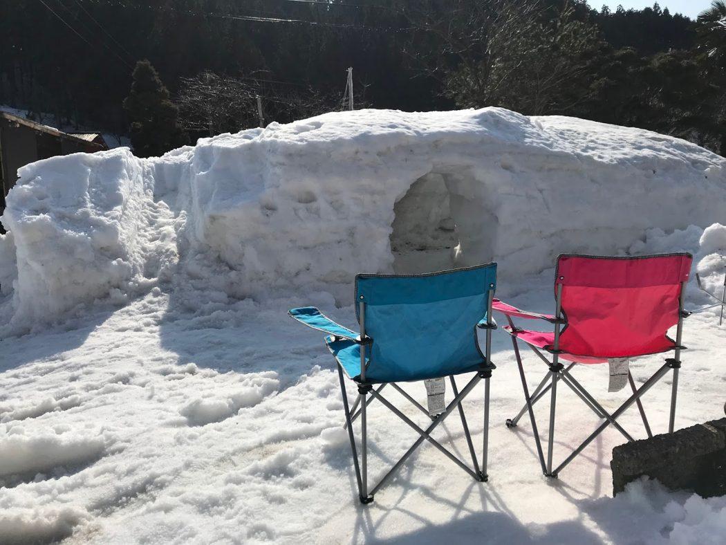 いなか日記。75『みんなで雪遊び!ソリもカマクラも大人気♪』