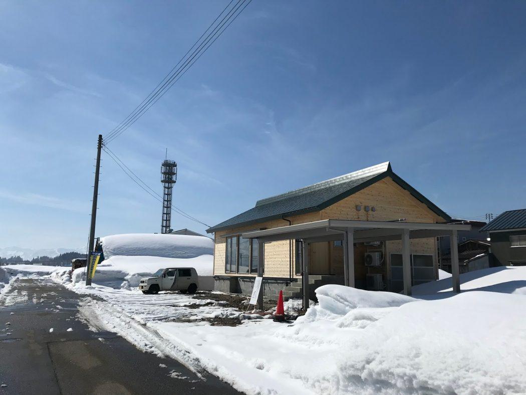 『祝!事務所名が決まった!』八海山と完成見学会。