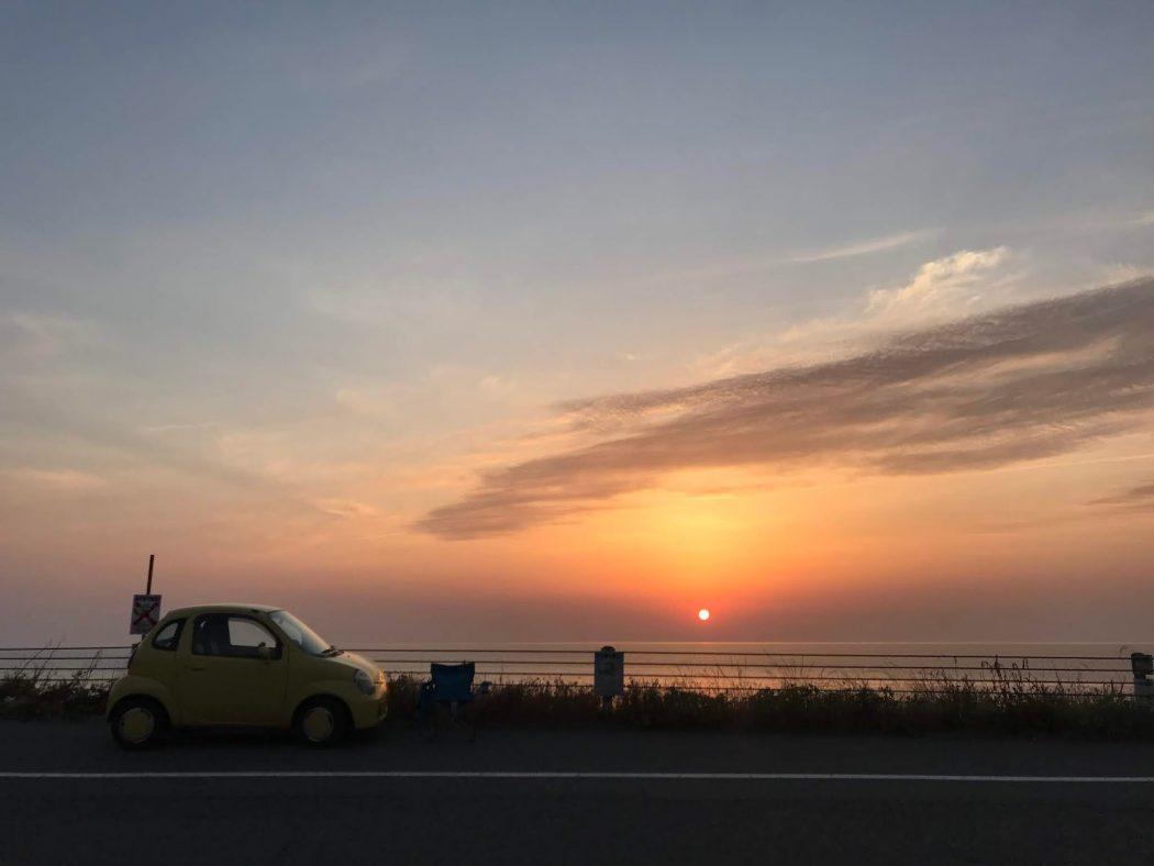 [PhotoLog]5月の夕日とスズメバチ。