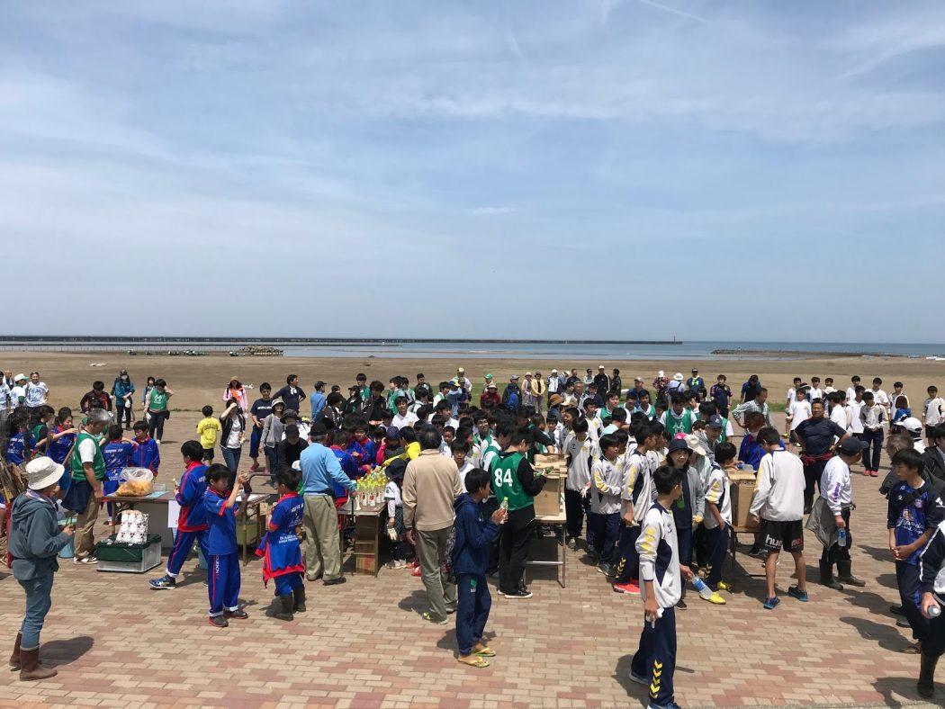 [PhotoLog]5/12:柏崎の海岸清掃に参加。