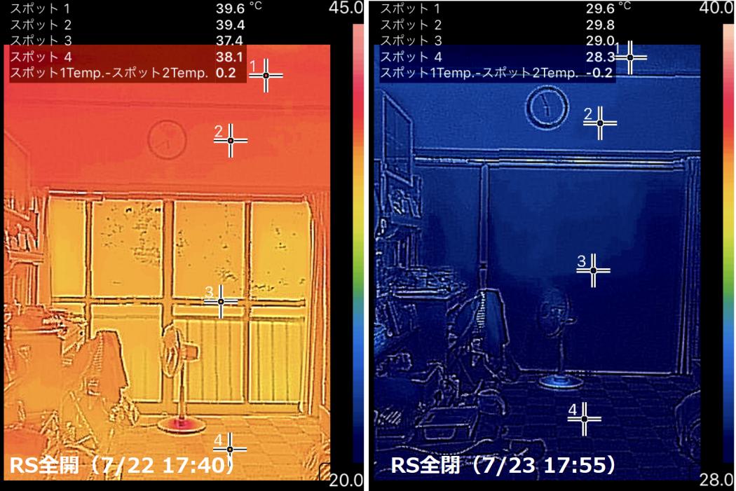 【秘訣】夏の日射熱調査⑤「室内へ侵入する熱『直射光』と『反射光』【概要】。」
