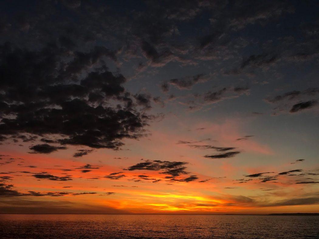 いなか日記。96『夕日の好みは日没から小焼けへ。』