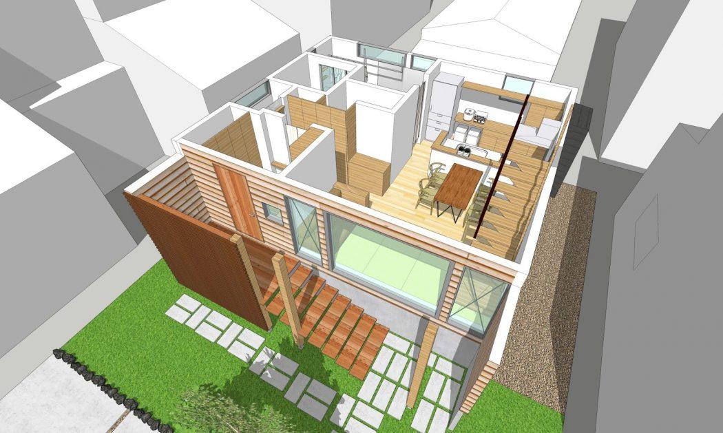 設計事務所の仕事『3Dパース完成』‐case.網川原のエスネル‐