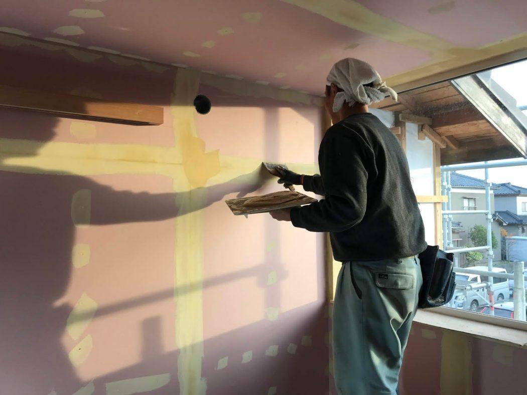 S邸リノベーション。32「内装ボード&外壁板張り!」