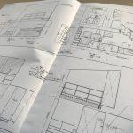 設計事務所の仕事『詳細図作成。』-網川原のエスネル製本完成-