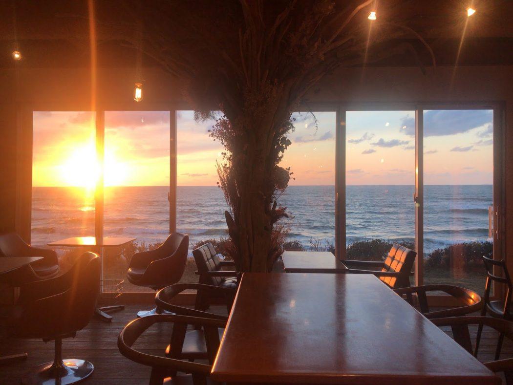 いなか日記。106『海カフェドナの夕日とS様邸プランニング。』