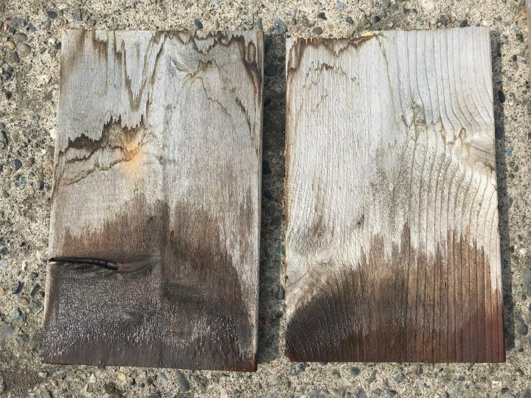 【秘訣】杉板「水漬け実験」半年経過後報告。意外とカビない!