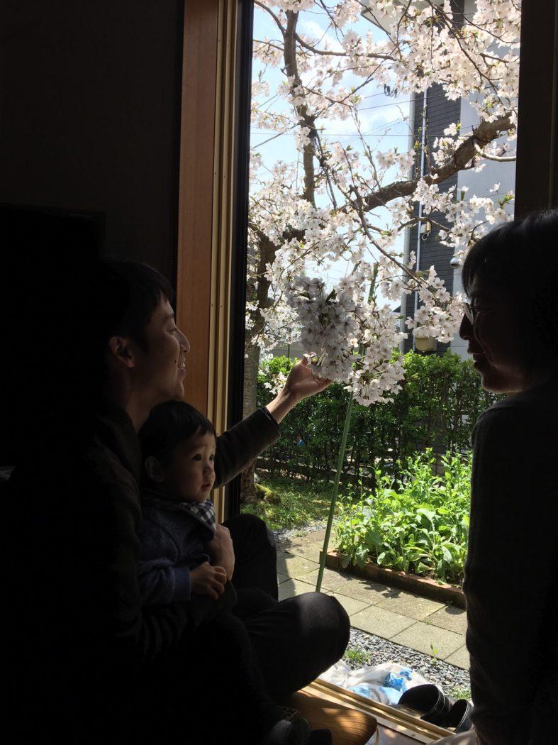 【秘訣】心地良い居場所は「窓辺」に生まれる。-桜の襖と季節の飾り-