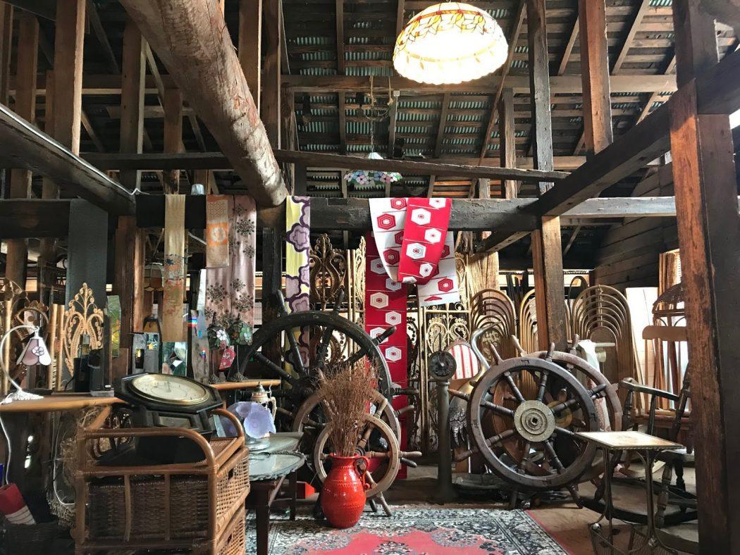 【素材】古材や古道具が何でもそろう!?越後古材「井口製材所」さん探訪。