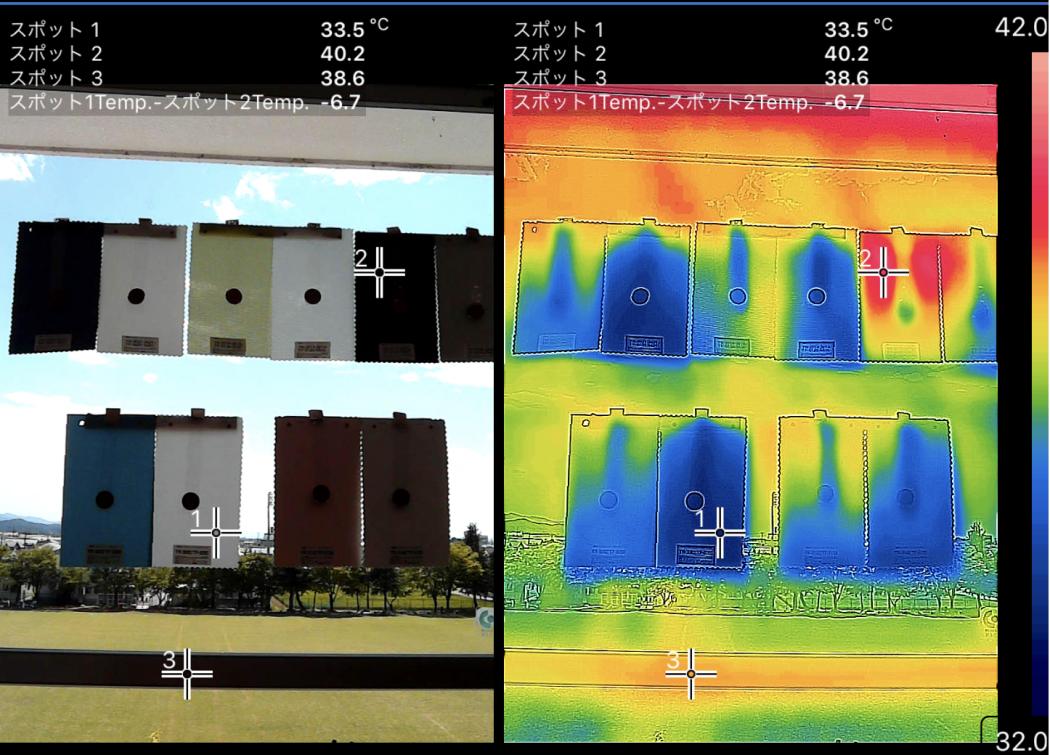 【秘訣】夏のロールスクリーンの遮熱効果調査②「実験開始!ロールスクリーンの表面温度。」