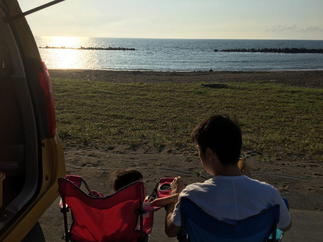 いなか日記。120『久々の秘密のビーチへ、家族と。』