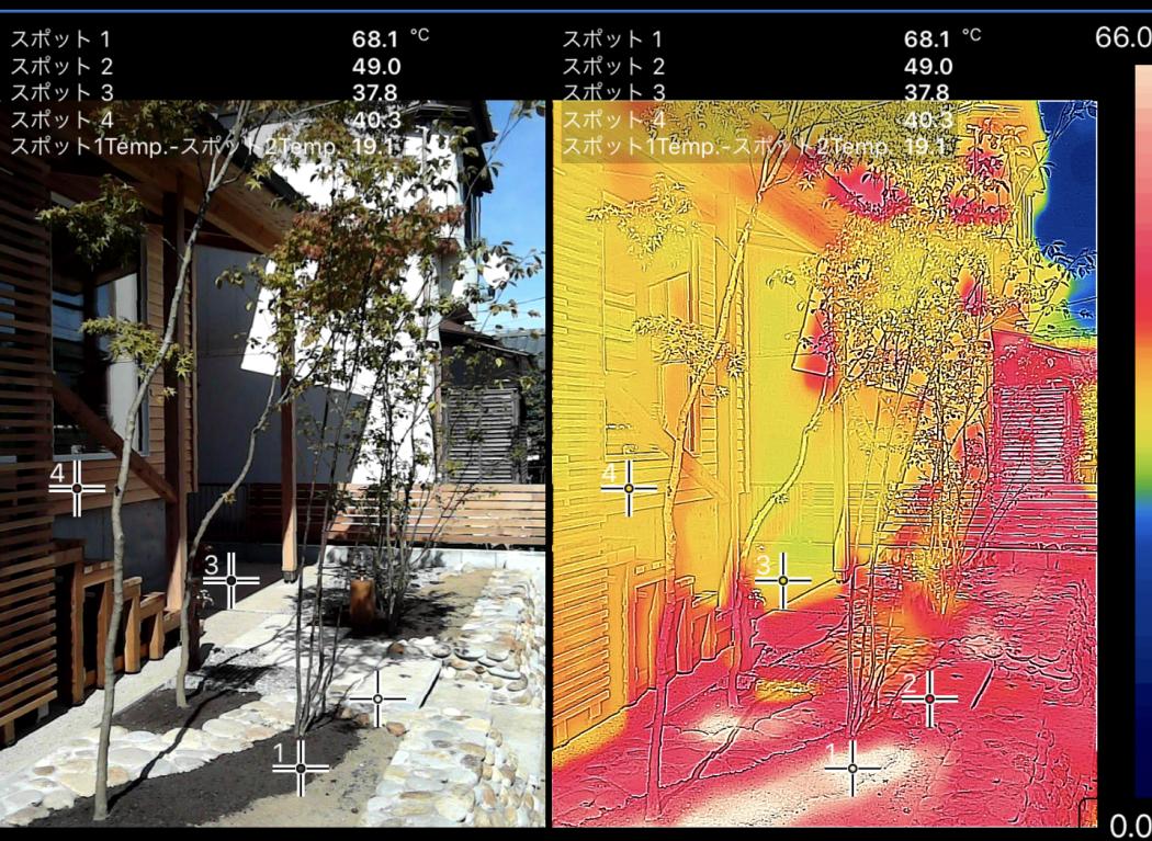 【秘訣】真夏の超高断熱「サーモ計測」②日中の室温と日射熱の影響。