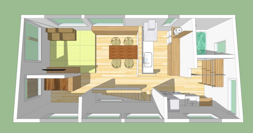 【ZZのエスネル-06】初回プラン提案③「3Dパース紹介」自分で操作する能動的な楽しさ。
