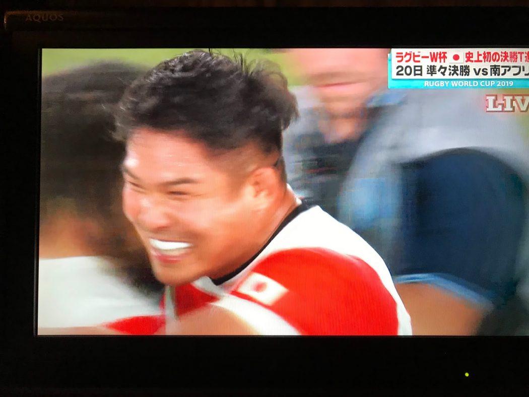 【祝】おめでとう!ラグビー日本代表!vs スコットランド戦勝利・決勝トーナメント初進出!!