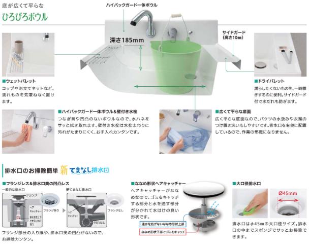 【秘訣】「既成洗面台と造作洗面台のメリット・デメリット」O様の検討過程。