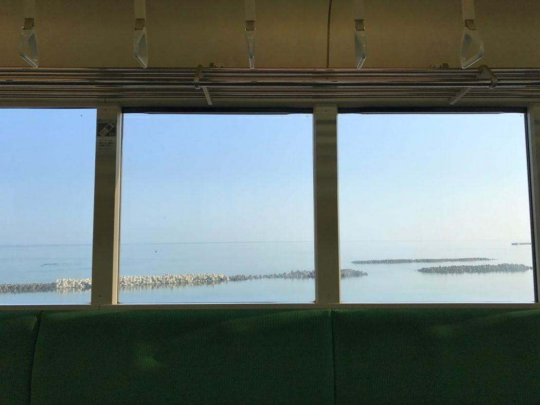 いなか日記。127『海の上を走る電車。』夢が叶った日。