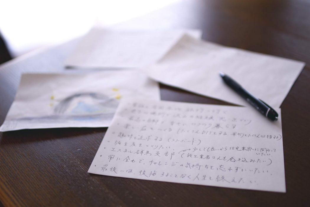 【ワクワク】夢を書き出そう♪『YKのエスネル、T様家族の夢。』