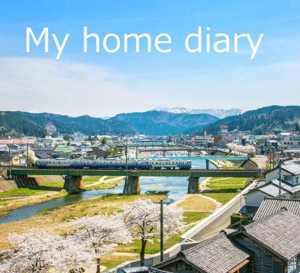 「My home diary」