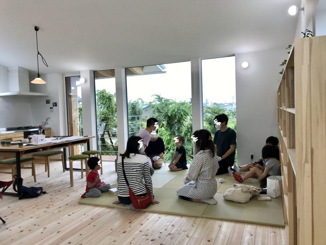 【荻曽根のエスネル完成】見学会終了『ネル友会開催♪』家づくりはコミュニティーづくり。