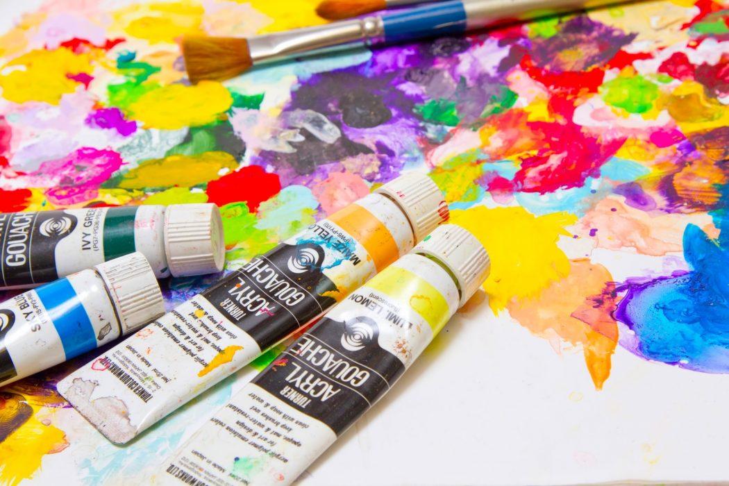 『住学とは。』与える場、受け取る場。「パレットと絵具。」