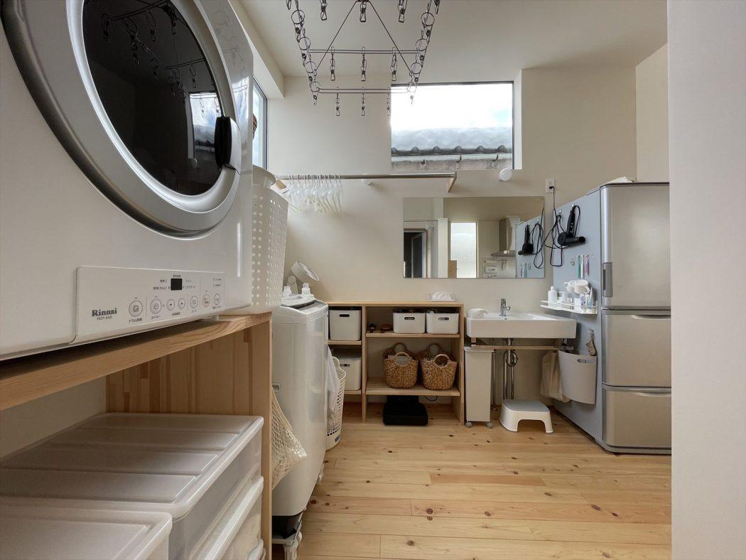【暮らし】『適材適所の収納方法。』キッチン、洗面、マグネットラック。case.地蔵のエスネル