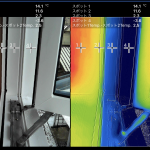【秘訣】真冬のサーモ計測『樹脂トリプル窓・スラブ断熱補強・個室排気設計』‐網川原のエスネル-
