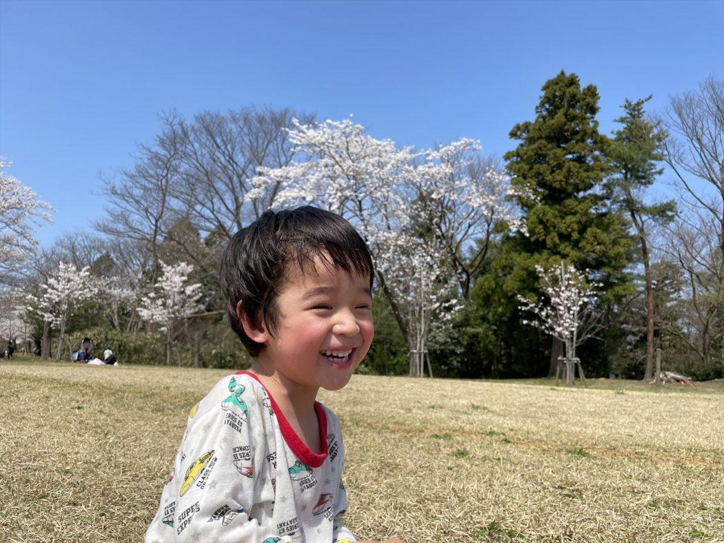 エッセイ。「僕の夢。『息子を最高に格好良い男に育てること。』」-桜の季節-