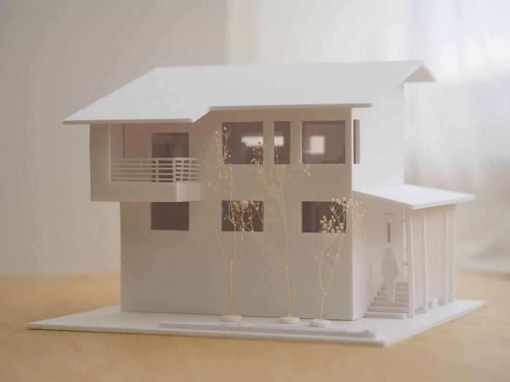 【吉岡のエスネル-02】『モケイ・3Dパース完成。』特別な贈り物「家づくりを家族で楽しんだ思い出を。』