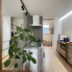 【暮らし】『DIYのカフェ空間と収納ケースの活用法。』case.仲町のリノベーション